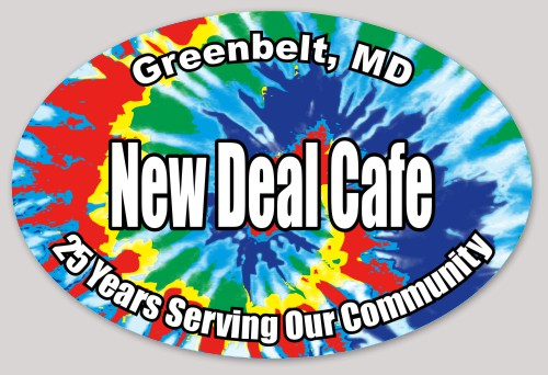 New Deal Cafe bumpersticker